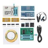 EZP2019 Obsługa szybkiego programatora USB SPI 24 25 93 EEPROM 25 Flash Układ BIOS + 9 adapterów
