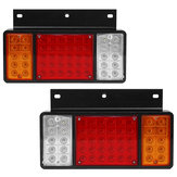 Pair 12V 50LED Car Rear Tail Light Lamp for ISUZU Elf Truck NPR NKR NHR 1984-up
