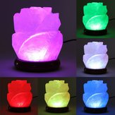 Himalayan Natural Crystal Rose Salt Lamps Bulb Night Light Ionic Purifier Gifts