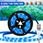0.5M/1M/2M/3M USB LED Grow Strip Light Waterproof Indoor Plant Growing Supplement Lamp for Flower Vegetable 5V