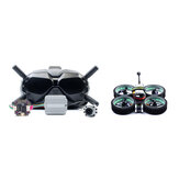 Diatone MXC TAYCAN 349 SW2812 LED DUCT 3 Inch 4S Freestyle CineWhoop FPV Racing Drone w / DJI Air Unit & DJI Goggles Combo