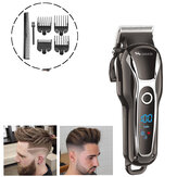 LCD Digital Display Oil Head Ciseaux Adult Hair Clipper Electric Clippers