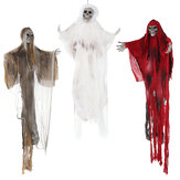"""70.8"""" Halloween Decoration Hang Scary Skull Doll Chamber Prop Skeleton"""