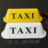 Wasserdichte 12V Taxi Auto Dachkabine LED Sign Light Lamp Magnetfuß mit Auto Feuerzeugstecker