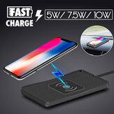 Bakeey Авто Qi Беспроводное зарядное устройство Pad 5 Вт / 7,5 Вт / 10 Вт Быстрая зарядка для iPhone XS 11Pro MI10 Note 9S