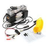 150PSI 60L 12V ضاغط الهواء 4WD مضخة نافخة الإطارات المحمولة عدة الضغط مضخة