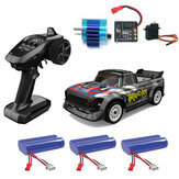 UDIRC 1601 RTR Brusheless 60km/h Several Battery 1/16 2.4G 4WD RC Car LED Light Proportional Vehicles Model
