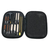 16pcs Gun Cleaning Kit Case Universal For 22 357 38 40 44 45 9mm Guns