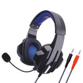 Soyto SY450MV Game Headphone 3.5mm Wired Bass Gaming Headset Surround Stereo Sound Earphone Headphones with Mic for Computer PC Gamer