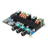 SANWU® SW-HF41 Беспроводной Bluetooth Цифровой 2.1-канальный Усилитель Плата 50 Вт + 50 Вт Стереовыход 100 Вт Выход басов USB TF-карта Декодирование Воспроиз