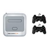 Super Console X Pro Amlogic S905X vezeték nélküli TV játékkonzol 64GB 128GB 50000+ Játékos lejátszó TV Box 4K HD a PSP PS1 N64 NES Atatri GB támogatásához
