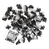 70PCS Pack 3Pin Gateron White Switch Switch Switch do mechanicznej klawiatury do gier