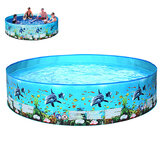183/244x38cm No Need Inflatable Swimming Pool Summer Holiday Children Paddling Pools Beach Family Game Pool