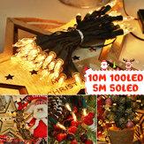 5M 10M Bateria Powered 8 Modes LED Luz de corda de bola de fada para festa de Natal para decoração de interiores de jardim