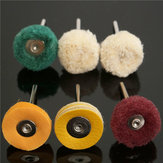 6 pcs Polisher Buffer Roda Polishing Buffing Pad Kit untuk Alat Rotary