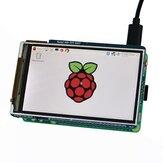 Geekwrom HD 3.5-дюймавый TFT ЖК-дисплей экран для Raspberry Pi 3B 2B с 2-мя ключами и удаленным IR