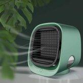 M-201 Multifuncional USB de mesa Ventilador de refrigeração do ar Ar condicionado Ventilador Refrigerador de ar Ventiladores pessoais