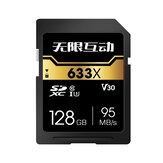 128G Memory SD Card Flash Card 32GB 64GB Smart Card SDHC SDXC Card 95MB/S for SLR Camera Driving Recorder