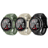 Bakeey Q70C BT 5.0 Outdoor Wristband Blood Pressure Monitor Multi Sport Modes Military Style Smart Watch