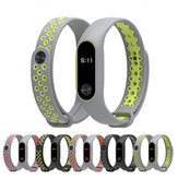Mijobs Colorful Strap Sport Silicone Replacement Bracelet for  Xiaomi MiBand 2  Non-original