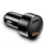 FLOVEME 18W Dual USB QC3.0 Quick Charging Car Charger For iPhone XS 11Pro Huawei P30 Pro Mate 30 5G Mi10 K30 S20 5G