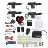 Controle Remoto Sistema de Alarme de carro Keyless Entry Security 2 4 Porta Power Lock Atuador Motor Kit