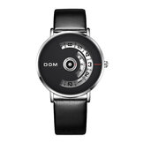 DOM M-1303 Waterproof Fashion Pria Kuarsa Perhiasan