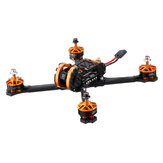 Eachine Tyro109 210mm DIY 5 дюймов FPV Racing Дрон PNP C F4 30A 600 мВт VTX Caddx Turbo Eos2 1200TVL камера