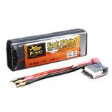 ZOP電源7.4V 4200mAh 2S 35C LipoバッテリーT Plugバッテリーアラーム付き