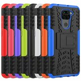 Bakeey for Xiaomi Redmi Note 9 / Redmi 10X 4G Case Armor Shockproof Non-slip with Bracket Stand Protective Case Non-original