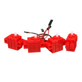 4Pcs KittenBot® Red Color 360° Geekmotor with Wire for Lego/Micro:bit Smart Robot Car
