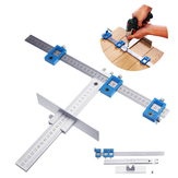 Aluminum Position Cabinet Hardware Jig Drill Guide for Woodworking