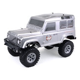 HSP 136100 Racing Cruiser 1/10 RC Auto elettrica impermeabile 4WD Off Road Rock Hobby Crawler ad alta velocità