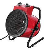 3KW 220V Portable Electric Warm Fan Heater Industrial Space Workshop Garage