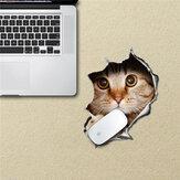 Kot Podkładka Pod Mysz Naklejki Podkładka Pod Mysz Naklejki PAG Wodoodporne Biurko Naklejki Wymienny Kot Wystrój Domu Prezent