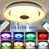 120LED Ceiling Light With Bluetooth Speaker Dimmable Remote/APP Control 110-220V