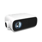 YG280 Mini projektor LED 1080P Obsługiwany 16: 9 telefon ten sam ekran Mirroring przenośny projektor do kina domowego rozrywka na świeżym powietrzu