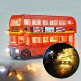 Kit de iluminação DIY LED SOMENTE para LEGO 10258 London Bus Building Block Bricks Toys