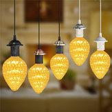E27 Vintage Halter passend LED Deckenleuchte Industrial Loft Eisen Kronleuchter Leuchte Pendelleuchte
