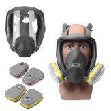 ガスマスクスプレーペイントケミカルフルフェイスマスク活性炭防塵ホルムアルデヒドフルフェイス保護マスク
