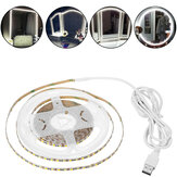 0,5 / 1/2/3/4 / 5M USB LED Light Strip Stepless escurecimento espelho Home Vanity Dressing Maquiagem Abajur
