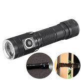XANES XT03 P9 6Modes 900Lumens Magnetic Tail EDC LED Flashlight