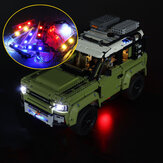 DIY LED Light Satz NUR für LEGO 42110 Technic Land Rover Defender Car Brick