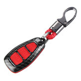 Koolstofvezel Remote Key Fob Case Shell Cover voor Ford Focus Fiesta Kuga C-Max