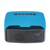 Suporte ao projetor mini portátil U20 1080P Projetor de cinema em casa com contraste 500: 1
