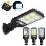 300W-650W IP65 LED Poste de luz solar PIR Motion Sensor Lâmpada montada na parede para jardim