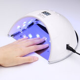 48W SUN6 LED UV Nail Lamp Light Gel Polish Cure Nail Dryer UV Lamp EU/US Plug