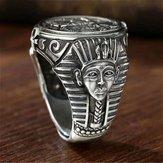 Nouvelle bague vintage Horus Anubis Wanderer
