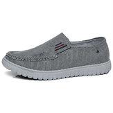 Erkekler Eski Pekin Rahat Nefes Alabilir Yumuşak Yürüyüş Kanvas Ayakkabı