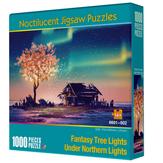 Wood Luminous Puzzle Adult Children Decompression Leisure Jigsaw Puzzle Toy Educational School Supplies 1000 Pcs